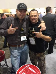 "Kevin with Brian ""Pigman"" Quaca"
