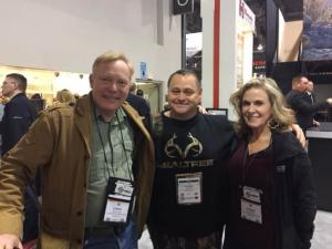 Kevin at Shot Show