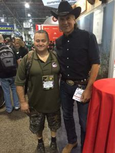 Kevin at the Shot Show